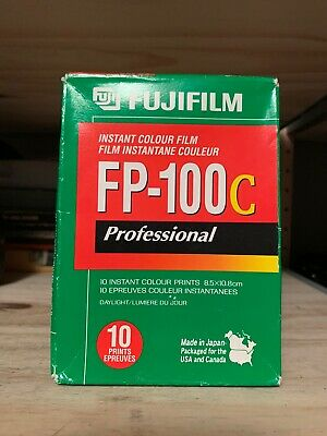 1 PACK FujiFilm FP-100C Instant Color Film 10 Prints Fuji ISO 100 EXPIRED 2007