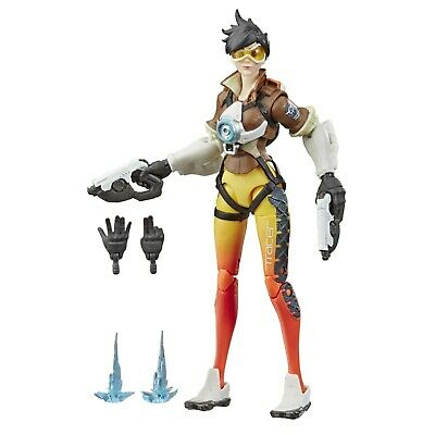 """New: Hasbro OVERWATCH UltimatesSeries TRACER 6"""" Collectible Action Figure"""