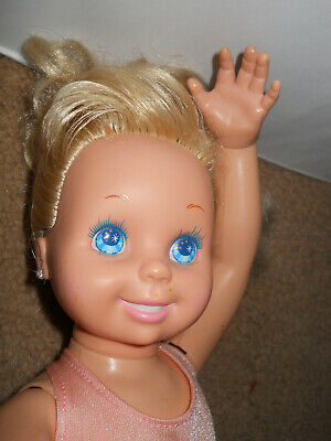 Doll, 1989, TYCO, MY PRETTY BALLERINA, Battery Op Doll Tested & Works, VTG as-is