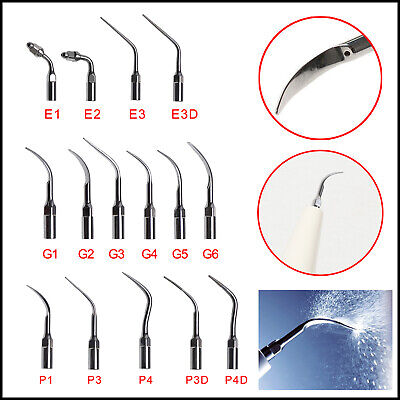 14Type Dental Ultrasonic détartreurs Scaling Endo Perio Tips Fit EMS WOODPEX GEP