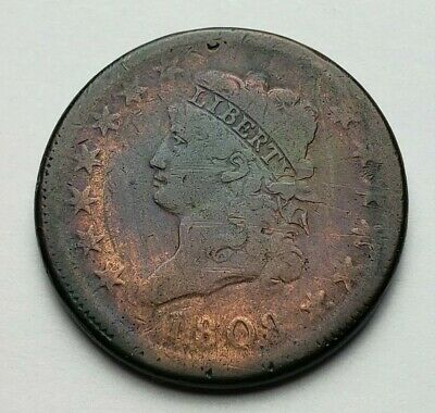 1808 Classic Head Large Cent Fine Toned
