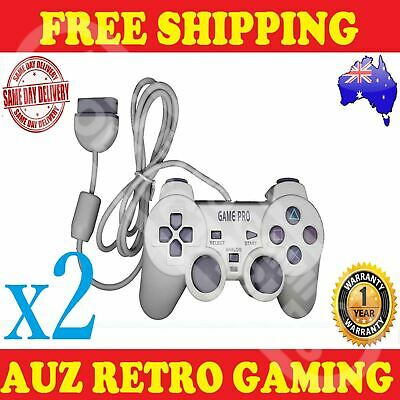 2x NEW PS1 PlayStation 1 Controller Control PS2