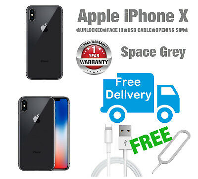 Apple iPhone X 64GB Space Grey  UNLOCKED Various Grades