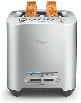 Sage Appliances The Smart 2 Toast bahías Tostadora.Indicador de progreso LED