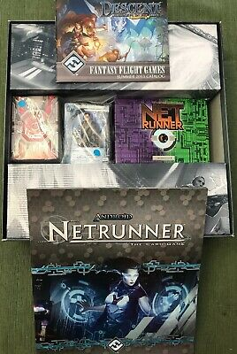 Boardgame Tokens from Android Netrunner LCG by FFG 46x Red//Blue Tokens