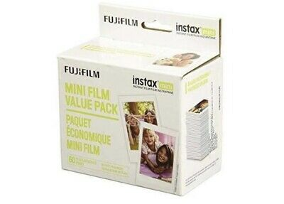Instax Mini Instant Film Value Pack 60 Total PicturesPackage