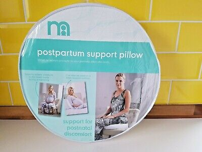 Brand New Mothercare Postpartum Support Pillow Postnatal Perineal Area Round