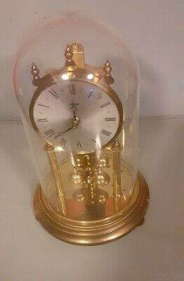 Kundo Anniversary Clock  With Dome For  Repair 9""