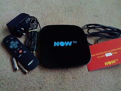 Now TV Smart box 4500sk + 1 Month Entertainment pass Freeview netflix wifi,.