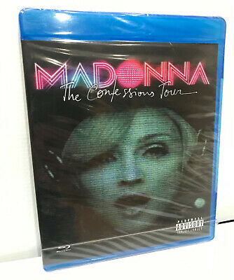 Madonna The Confessions Tour 2007 Blu-Ray Live Concert Made in Russia Ultra rare