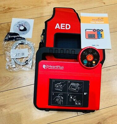 Heart plus AED NT-180. Physio Control Nanoomtech. User Manual & CD