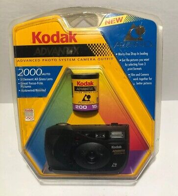 Kodak Advantix Photo System Camera Outfit 2000 With Film New In Package 1996
