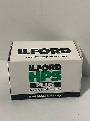 Ilford HP5 Plus - Black & white print film 135 (35 mm) ISO 400 24 exposures...