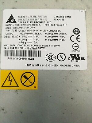 Mac Pro 3.1 Power Supply