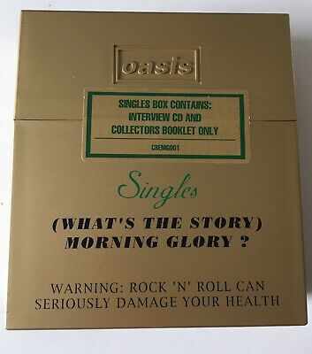 RARE Oasis - What's The Story Morning Glory Boxset (cremg001) NEW AND SEALED