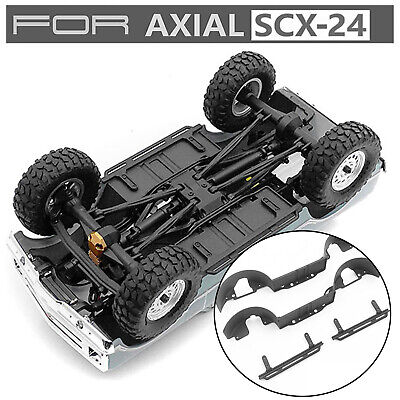 Tire Cover Liner Fender + Side Pedal Treadle for Axial1/24SCX24 1967 Chevrolet