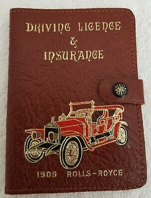 Leather driving licence holder//driving licence Wallet//driving licence Cover-DL02