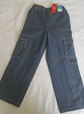 A New Pair Of Marks & Spencer Childs Denim Jeans 4-5 Years