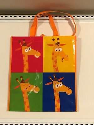 Geoffrey Toys R Us Exclusive New Shopping Tote Bag  Brand New w// Tags RARE!!