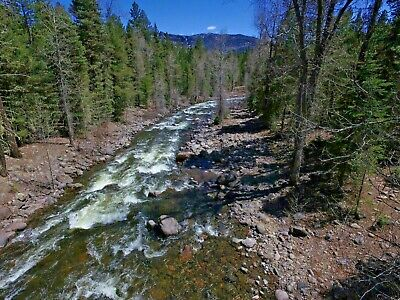Colorado Gold Mine Placer Claim Prime Mining West San Juan River Panning Sluice