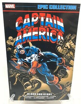 Captain America Blood and Glory Epic Collection Volume 18 Marvel Comics New TPB