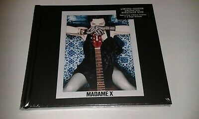 Madonna Madame X Limited Edition Deluxe 2Cd Hardcover Book New And Sealed