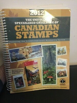 Unitrade Specialized Catalogue Canadian Stamps 2012 Ed 663 pgs orig price $44