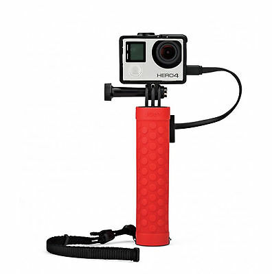 Joby Action Battery Grip for GoPro and other Action Video Cameras(Red)