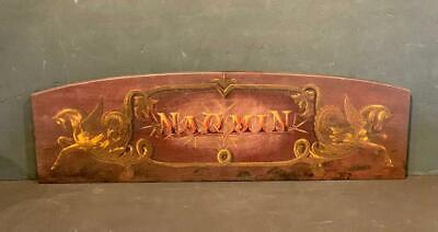 c. 1900 NAOMIN Horse Stall sign