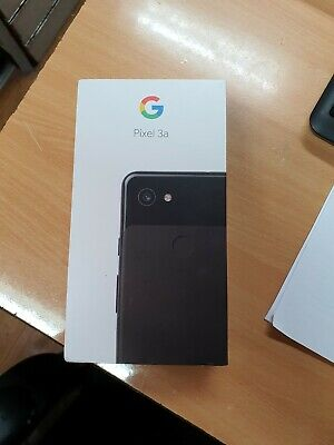 Google Pixel 3a 64GB Just Black EE (OP.PP)(77771)