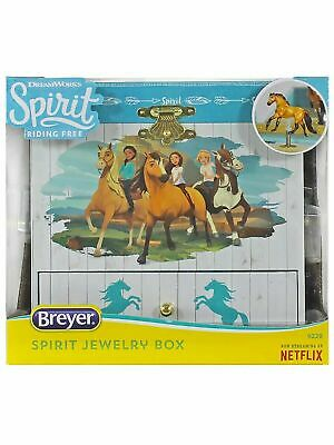 "NEW Breyer Dreamworks Spinning Horse ""Home On The Range"" Jewelry Music Box NIB"
