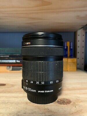 Canon EF-S 18-135mm f3.5-5.6 IS Lens 18-135/3.5-5.6 EFS