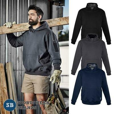 Mens Multi Pocket Hoodie Jumper  Pullover Size 2XS - 7XL Workwear Casual ZT467