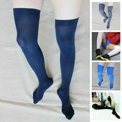 Men's Soccer Thigh Stocks High Stockings Velvet Thin Sports Long Socks Brethable