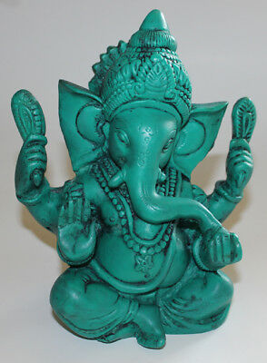 Resin Ganesh Statue, Hand Craved Nepal, CL-216, Home Decor, Brand New