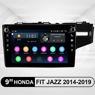 JOYING 9 Inch For Honda Fit Jazz 2014-2019 Plug and Play Android 8.1.0 SWC DVR