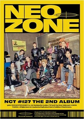 Nct 127 - 2Nd Album Nct #127 Neo Zone [N Ver.] New Cd