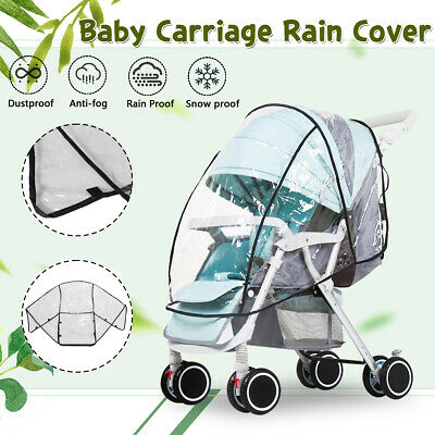 Universal Raincover Waterproof Buggy Rain Cover for Baby Pushchair Stroller Pram