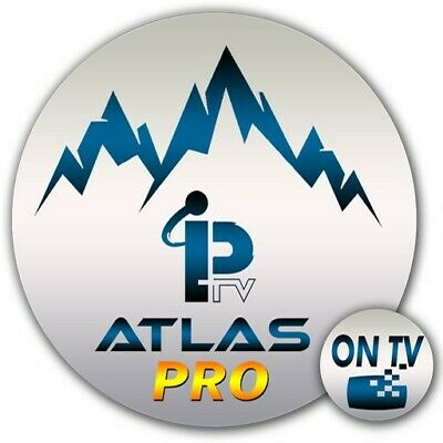 ABONNEMENT ATLAS PRO 12 MOIS CODE ORIGINALE ( smart tv, android ,ontv ,ultimate)