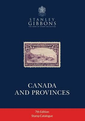STANLEY GIBBONS - STAMP CATALOGUE - CANADA AND PROVINCES - 7th EDITION