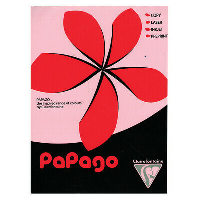 Papago A4 Copier Paper Dark Red 80gsm 500 Sheets