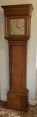 8 day Grandfather Longcase Clock Drury, Banbury in Oak Case