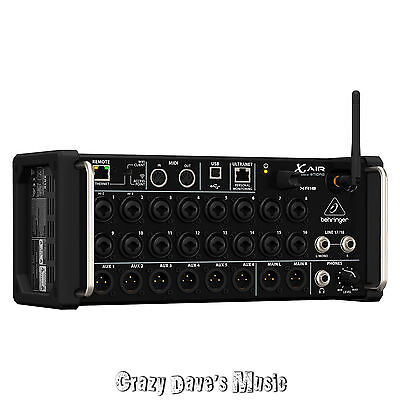 Behringer X Air XR18 18 Channel 12 Bus Digital Mixer for iPad/Andoid Tablets NEW