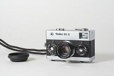 Rollei 35 S 35mm Compact Film Camera Rollei HFT Sonnar 40mm F2.8 Lens