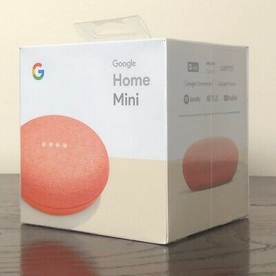 NEW Google Home Mini Smart Speaker with Google Assistant - Coral