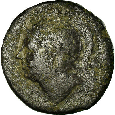 [#499925] Coin, Anonymous, Triens, 217-215 BC, Roma, VF, Bronze, Crawford:38/6