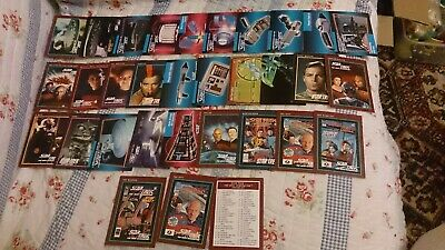 30x Vintage STAR TREK Trading CARDS Collectable Lot