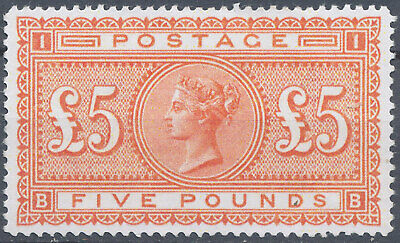 Stamp Great Britain 1882 Queen Victoria £5 Copy,Reproduction