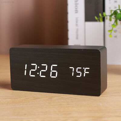 Portable Digital Alarm Clock Sounds Control with Time Memory LED Alarm Clock