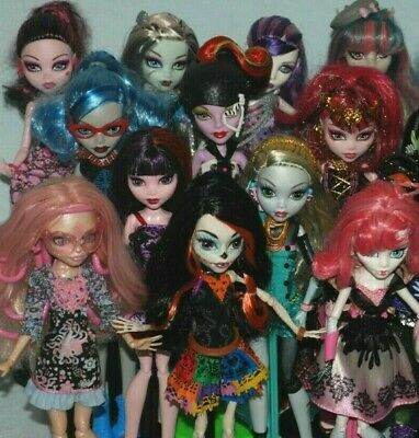 (List #3) Monster High Dolls inc Some Original Accessories - Choose from Various